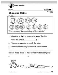 Choosing Coins Lesson Plan