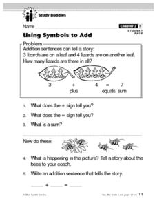Using Symbols to Add Lesson Plan