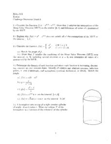 Challenge Discussion Sheet 6 Worksheet