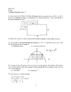 Challenge Discussion Sheet 7 Worksheet