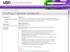 Clothing 2 Sample Notebook Lesson Plan
