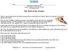 The Will of the People Worksheet
