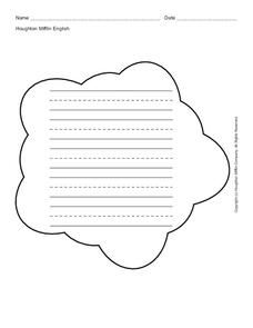 Cloud Worksheet