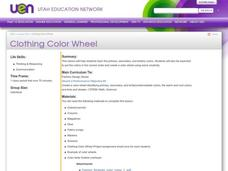 Clothing Color Wheel Lesson Plan