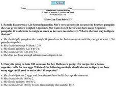 How Can You Solve It? Worksheet
