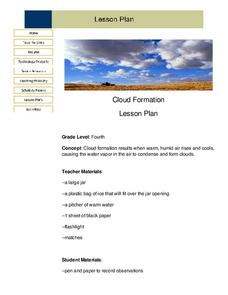 Cloud Formation Lesson Plan