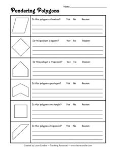 Pondering Polygons Lesson Plan