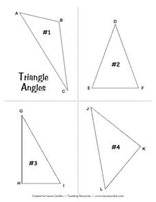 Triangle Angles Lesson Plan