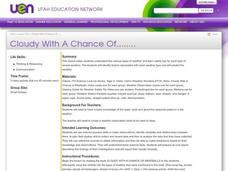 Cloudy With A Chance Of........ Lesson Plan
