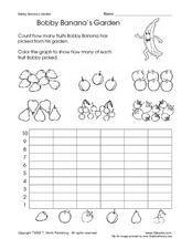Bobby Banana's Garden Worksheet
