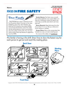 Focus On Fire Safety Lesson Plan