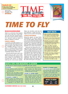 Time to Fly Lesson Plan