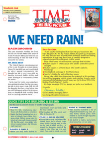 We Need Rain! Lesson Plan
