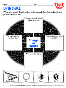 Up In Space Lesson Plan