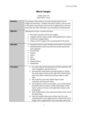 Mirror Images Lesson Plan