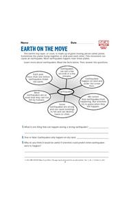Earth on the Move Lesson Plan