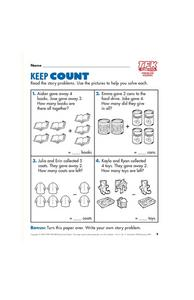 Keep Count Lesson Plan