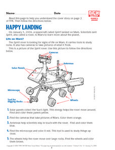 Happy Landing Lesson Plan