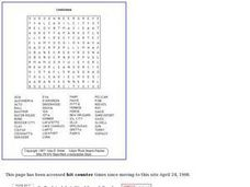 Louisiana Puzzle Worksheet