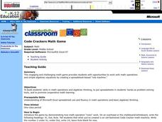 Code Crackers Lesson Plan