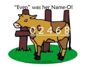 """Even"" Was Her Name-O! Lesson Plan"