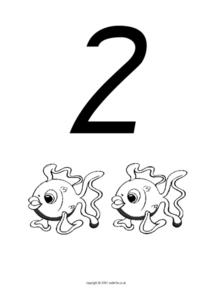 Two Fish, Counting Worksheet