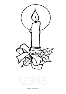 Counting Candles Worksheet