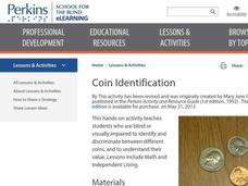 Coin Identification Lesson Plan