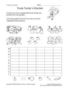 Trudy Turnip's Garden Worksheet
