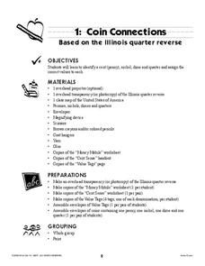 Coin Connections Lesson Plan