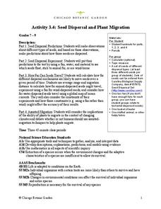 Seed Dispersal and Plant Migration Lesson Plan