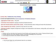 Collaborative Story Writing Lesson Plan