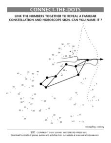 Connect-The- Dots- Constellation and Horoscope Lesson Plan