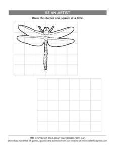 Be an Artist: Dragonfly Lesson Plan