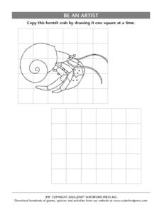 Be an Artist: Hermit Crab Lesson Plan