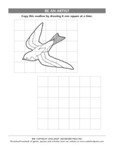 Be an Artist: Copy the Picture of the Swallow Lesson Plan