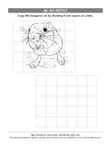 Be an Artist: Kangaroo Rat Lesson Plan