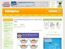 Find the Matching Cupids Lesson Plan