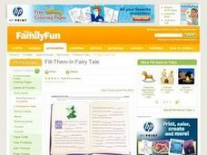 Fill-Them-In Fairy Tale Lesson Plan