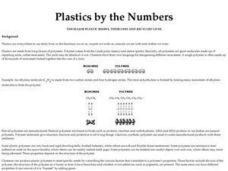 Plastics by the Numbers Lesson Plan