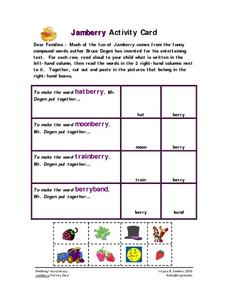 Jamberry Activity Card Worksheet