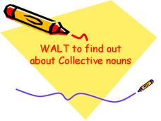 Collective Nouns Presentation
