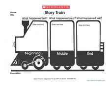 Story Train Graphic Organizer