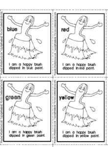 Color Combinations Coloring Sheet Worksheet