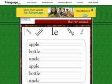 Phonics: Le Worksheet
