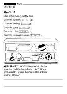 Color It Worksheet