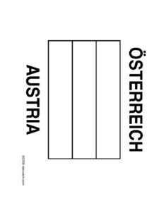 Flag of Austria Coloring Sheet Worksheet