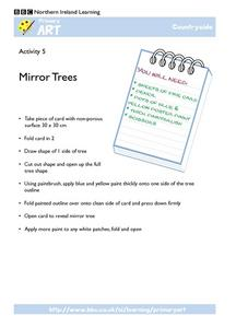 Mirror Trees Worksheet