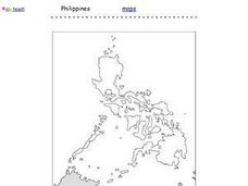 Philippines Map Worksheet