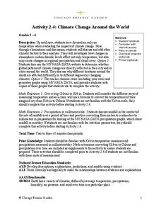 Climate Change Around the World Lesson Plan for 5th - 6th ...